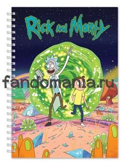 """Блокнот """"Рик и Морти"""" - фото 7677"""