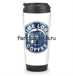 """Термостакан """"Time Lord Coffee"""" (Доктор Кто) - фото 7706"""