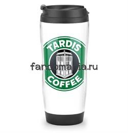 "Термостакан ""Tardis Coffee"" (Доктор Кто) - фото 7708"
