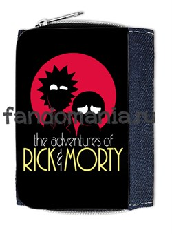 """Кошелек """"Рик и Морти"""" - фото 7768"""