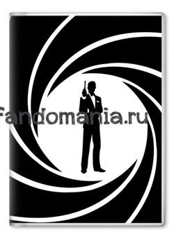 """Обложка на паспорт """"Агент 007"""" (Джеймс Бонд) - фото 7852"""