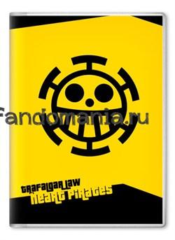 """Обложка на паспорт """"Трафальгар Ло"""" (One Piece) - фото 7892"""