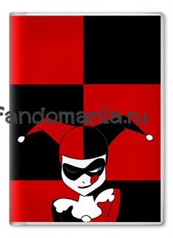 """Обложка на паспорт """"Harley Quinn"""" (DC comics) - фото 7934"""