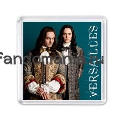 """Магнит """"Король Людовик XIV и брат его Филипп"""" (Версаль) - фото 8030"""