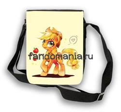 """Сумка с клапаном """"My little pony"""" - фото 8309"""