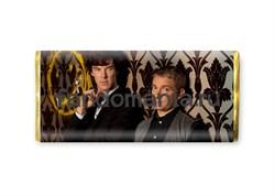 "Шоколадная плитка ""Шерлок Холмс и доктор Ватсон"" (Шерлок BBC) - фото 8355"