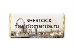 "Шоколадная плитка ""Sherlock"" (Шерлок BBC) - фото 8359"