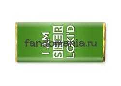 """Шоколадная плитка """"I am sherlokid"""" - фото 8393"""