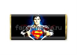"Шоколадная плитка ""Супермен"" - фото 8426"