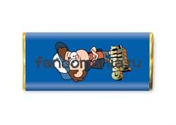 """Шоколадная плитка """"Диппер Пайнс"""" (Гравити Фолз) - фото 8497"""