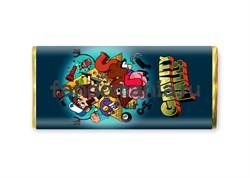 "Шоколадная плитка ""Gravity Falls"" (Гравити Фолз) - фото 8517"