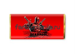 "Шоколадная плитка ""Deadpool"" - фото 8545"