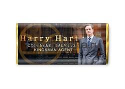 """Шоколадная плитка """"Гарри Харт"""" (Кингсмен) - фото 8587"""