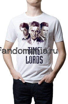 """Футболка """"Time Lords"""" (Доктор Кто) - фото 8732"""