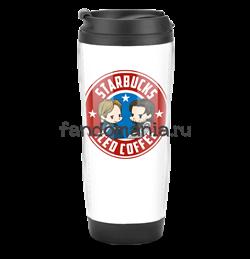 "Термостакан ""Starbucks"" (Капитан Америка) - фото 8834"