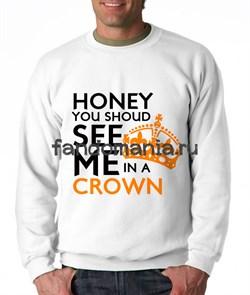 """Свитшот """"In a crown"""" (Шерлок) - фото 9002"""