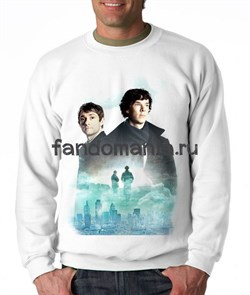 "Свитшот ""Шерлок и Джон"" - фото 9016"