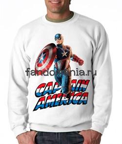 """Свитшот """"Капитан Америка"""" - фото 9134"""
