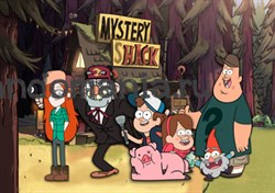 "Постер ""Mystery Shack"" (Гравити Фолз) - фото 9831"