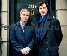 "Коврик для мыши ""Шерлок и Джон""  (Шерлок)"
