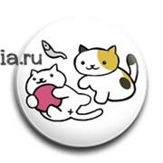 """Значок """"Котики"""" (Neko Atsume)"""