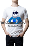 "Футболка ""Sans Skeleton"" (Undertale)"