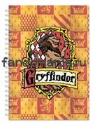 """Блокнот """"Гриффиндор""""  (Гарри Поттер)"""