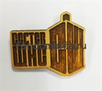 "Брошка ""Доктор кто. Лого"""