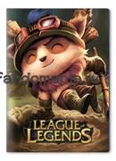 "Обложка на паспорт виниловая ""League of Legends"" (Лига легенд)"