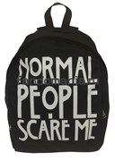 "Рюкзак ""Normal people scare me""  (Американская история ужасов)"