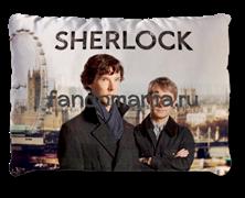 """Подушка """"Шерлок и Джон"""""""