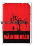 """Обложка на паспорт виниловая """"Walking Dead"""" (Ходячие мертвецы)"""