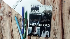 "Блокнот ""Welcome to Sherrinford"" (Шерлок)"