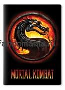 """Обложка на паспорт виниловая """"Mortal Kombat"""""""