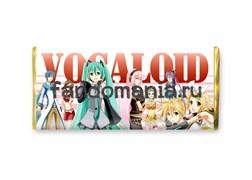 """Шоколадная плитка """"Вокалоиды"""" (Vocaloid)"""
