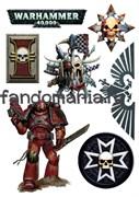 """Набор стикеров """"Warhammer 40000"""""""