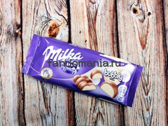 "ШОКОЛАД ""MILKA-BUBBLY WHITE"""