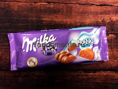 "ШОКОЛАД ""MILKA-BUBBLY MILK"""