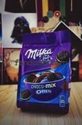 "Шоколадное печенье ""Milka Oreo snax"""