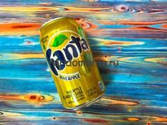 Fanta Pineapple | Напиток безалкогольный газированный