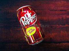 Dr.Pepper Cherry Vanilla | Напиток безалкогольный газированный