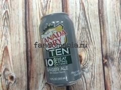 Canada Dry Ten | Напиток безалкогольный газированный