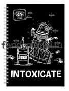 """Блокнот """"Intoxicate""""  (Доктор кто)"""