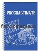 "Блокнот ""Procrastinate""  (Доктор кто)"