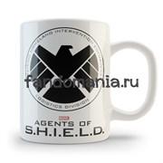 "Кружка ""Agents of S.H.I.E.L.D."" (Марвел)"