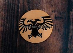 "Кожаный значок ""Империум"" (Warhammer 40000)"
