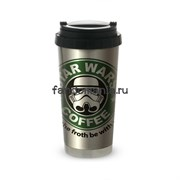 "Термокружка стальная ""Star Wars coffee"" (Звездные войны)"