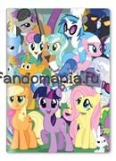 Обложка на паспорт виниловая My Little Pony