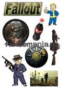 """Набор стикеров """"Fallout"""""""