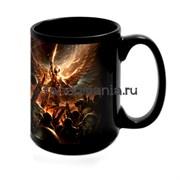 "Большая черная кружка ""Вархаммер 40000"" (Warhammer 40K)"